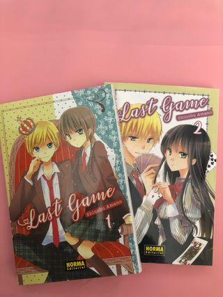 Manga Last Game