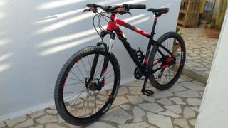 bicicleta btwin 560 seminueva