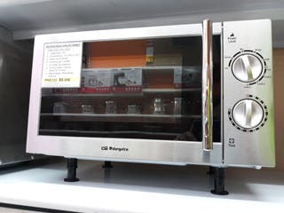 Microondas grill 20L acero inoxidable Orbegozo