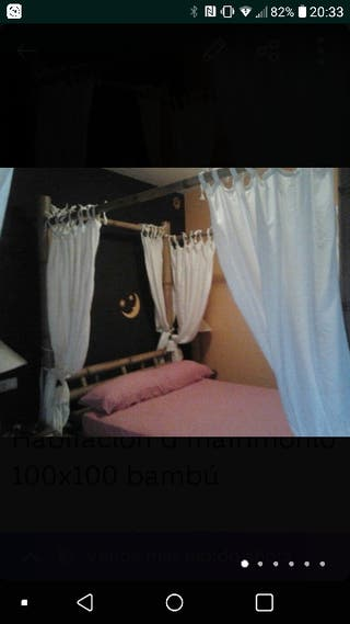 habitacion 100x100 bambu