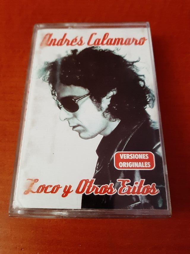 1 Cassette Andrés Calamaro.