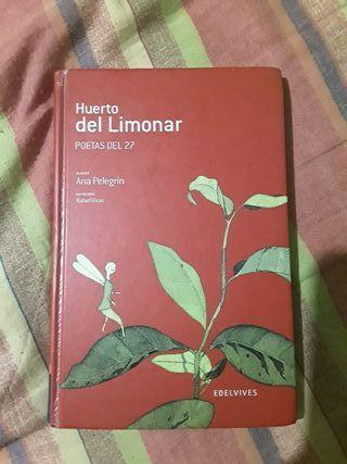 Libro poesía Huerto del Limonar