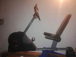 bicketa estática seminueva