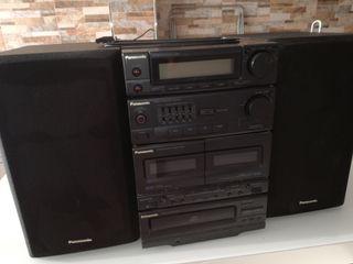 cadena de música Panasonic 95 W RMS