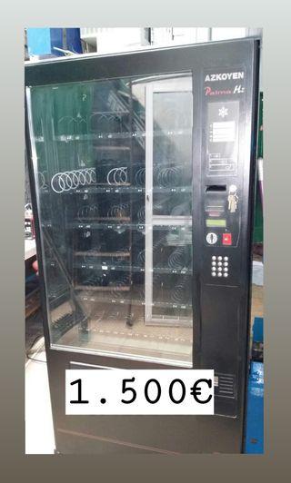Máquina expendedora fría. Marca Azkoyen