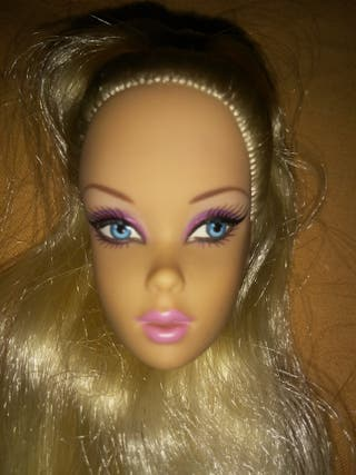 Cabeza Barbie pop life