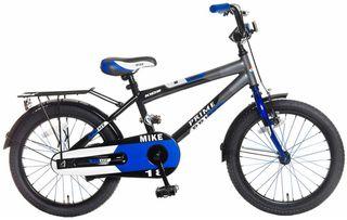 Bicicleta Popal Mike azul/gris 18 pulgadas