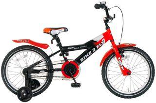 """Bicicleta Popal Bike 2 Fly rojo/negro 18"""""""