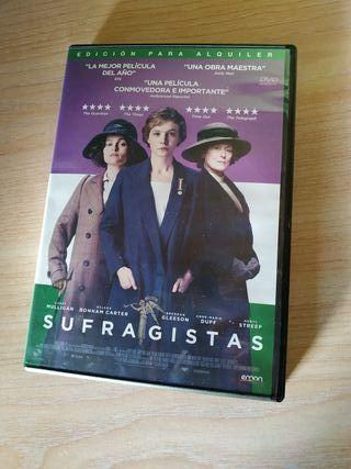 sufragistas DVD