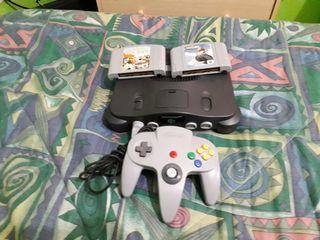Nintendo 64 +2juegos