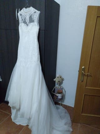 03d26f5bc Vestido de novia de marca de segunda mano en la provincia de ...