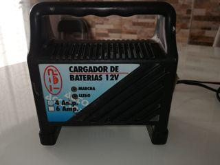 cargador de baterías 12V