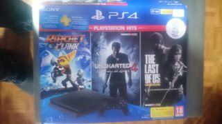 PS4 1Tb + mando + juegos