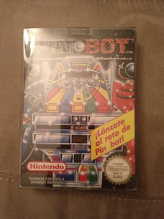 PIN BOT NINTENDO NES 1991.