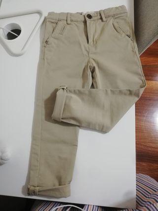 Pantalon niño talla 5 Zara