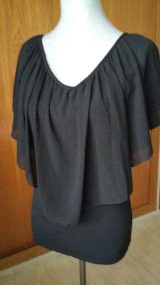 Blusa negra talla S