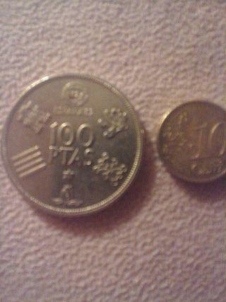 moneda de 100 pesetas de edición limitada