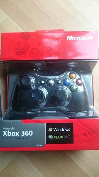 Mando Xbox360 + adaptador para Ps3 o PC