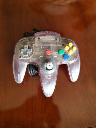 Mando Nintendo morado