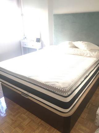 Canapé colchón y toper 1,50x 1,80