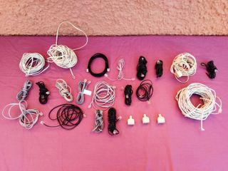 20 cables telefonicos + 3 clavijas para duplicar
