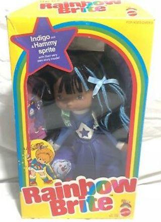 Muñeca Índigo de Rainbow brite. 1982