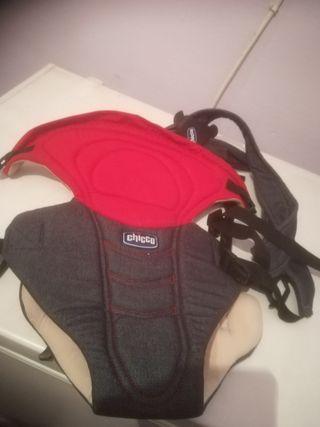 mochila portabebe y bolsa portapanyales