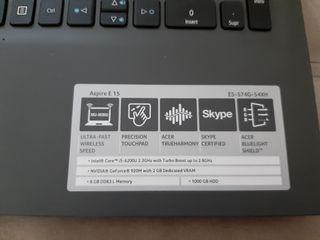 Portátil Acer Aspire E15. Casi sin estrenar