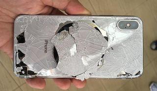 Reparar cristal trasero IPhone X, XS, XS Max y XR