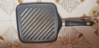 sarten grill asador antiadherente