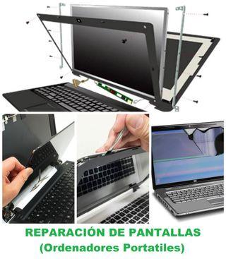 Reparación de Pantalla PC Portátiles
