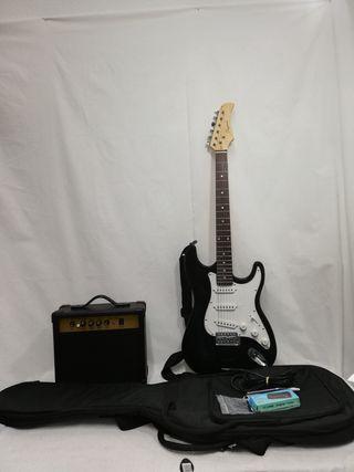 Guitarra eléctrica Daytona tipo stratocaster