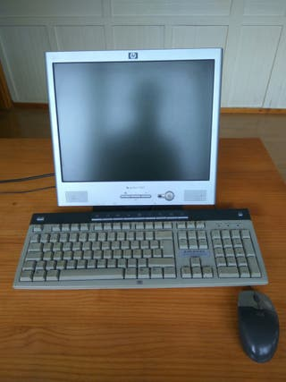 pantalla y teclado ordenador