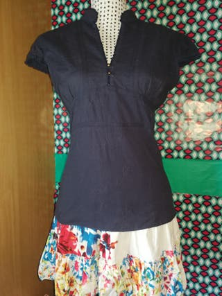 Camisa de algodón, talla 44