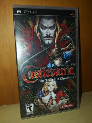 Castlevania Dracula x Chronicles psp.Manga vol 1-2
