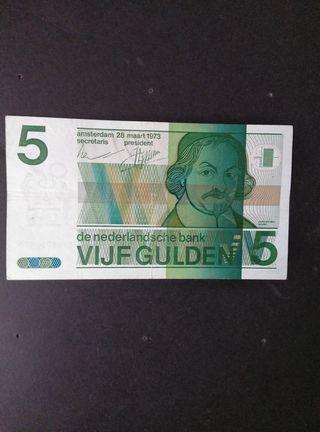 Holanda 5 gulden.