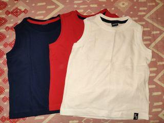 Camisetas Basicas Niño