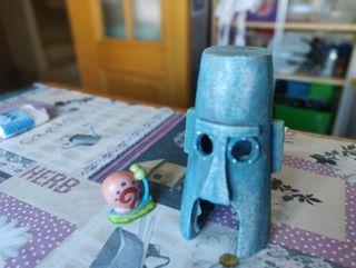 Figuras acuario Bob esponja