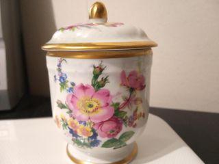 Cajita porcelana francesa de Limoges