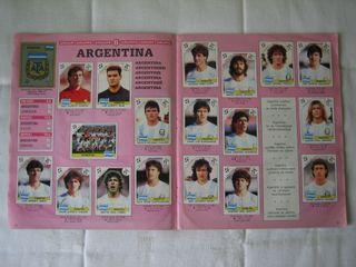 ÁLBUM DE CROMOS ITALIA 90 WORLD CUP