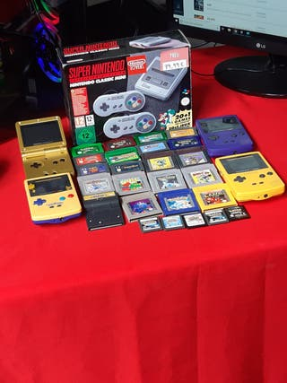 Juegos Game boy Advance SP/Game Boy Color