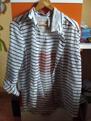 Camisa a rayas L