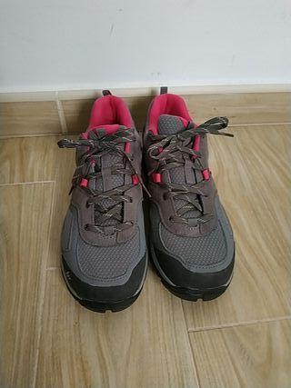 zapatillas montaña decathlon 41