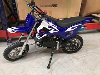 Mini moto croos para niños nuevas 49cc