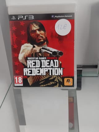 RED READ REDEMPTION PS3