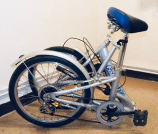 Bicicleta Plegable Aluminio Folding