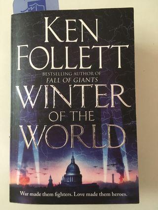 Libro inglés winter of the world