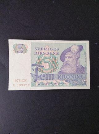 Suecia 50 coronas .