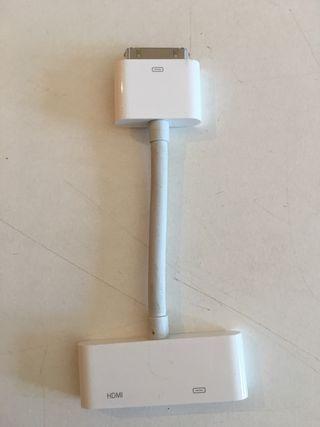 Adaptador HDMI IPad 1 y 2