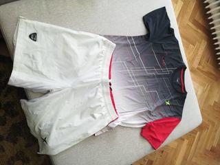 conjunto padel camiseta y pantalón nuevos JMD